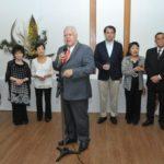 Erisson Thompson de Lima, presidente da Associação de Ikebana (Jiro Mochizuki)