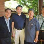 Hirofumi Ikesaki e o cônsul Yasushi Noguchi também participaram