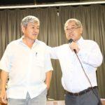 Ida com o vice-prefeito de Mairiporã, Eduardo Dyotaro Yokomizo (Jiro Mochizuki)
