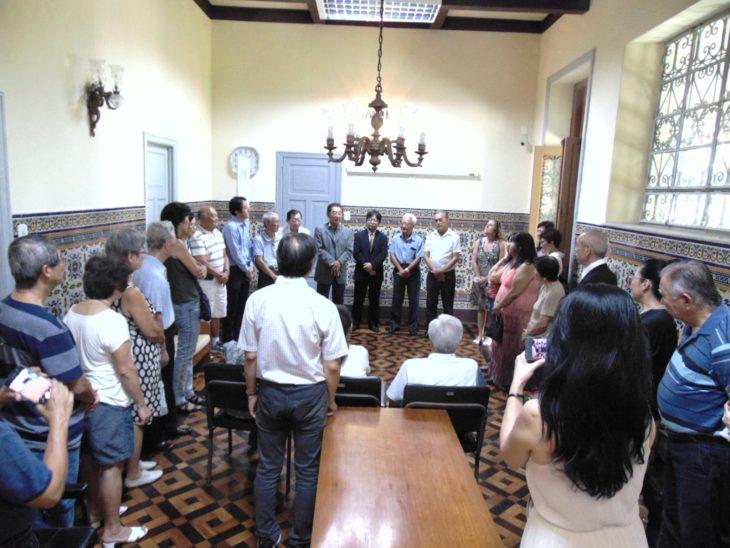 Inauguração, que fez parte das comemorações dos 110 Anos, reuniu várias personalidades da cidades (Teruko Okagawa Monteiro)