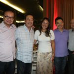 Kendi Yamai com Aurélio, diretores e funcionários da Aliança (Jiro Mochizuki)