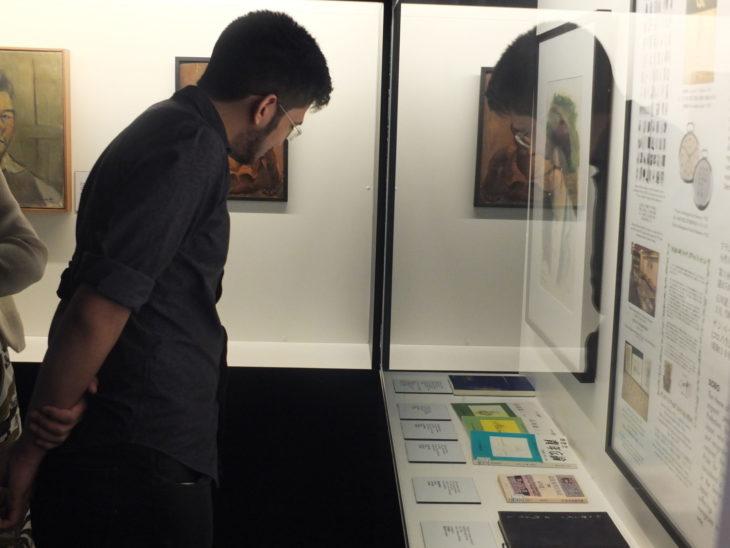 Kim mostrou interesse pela história dos imigrantes - Aldo Shiguti