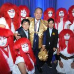 Renato Ishikawa com os netos e tocadores do grupo de taiko Shuudan Kiraku (Jiro Mochizuki)