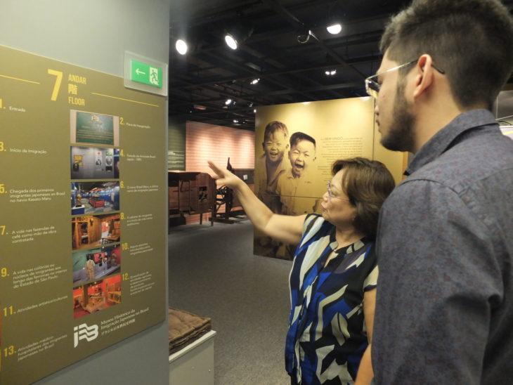 Vice-presidente da Comissão de Administração do Museu, Lídia conta a saga dos pioneiros - Aldo Shiguti