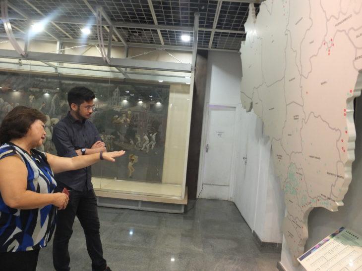 Visita terminou no nono andar do Edifício do Bunkyo - Aldo Shiguti
