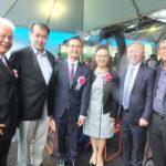 Elzo, cônsul, Pedro, Akemi, Walter e Silvio (Aldo Shiguti)