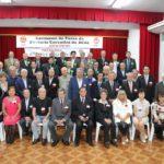 Membros da nova Diretoria e convidados (ao fundo) (Jiro Mochizuki e Aldo Shiguti)