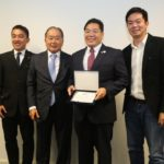 Com Renato Ishikawa e Rodolfo Wada