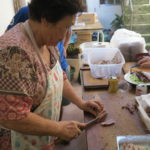 Culinária típica foi um dos pontos altos do evento... (Nikkey Shimbun)