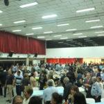 Salão da Associação Okinawa recebeu cerca de 300 pessoas