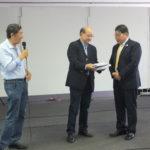 Tomio Katsuragawa, Carlos Kendi e Toshio Saito