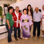 Organizadores e expositoras de ikebana (divulgação)