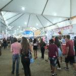 Praça de alimentação do Japan Fest (divulgação)