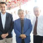 Cônsul, Luis Yabiku e Roberto Nishio (Jiro Mochizuki)