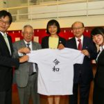 Cônsul, Roberto Nishio, Reiko Nakamura e Carlos Fukuhara (Jiro Mochizuki)