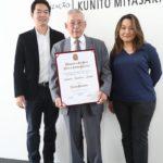 Com Rodolfo Wada e Patricia Murakami (Jiro Mochizuki)