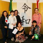 Hitomi com Angela,Harumi, Mônica, Harumi e convidadas (Jiro Mochizuki)