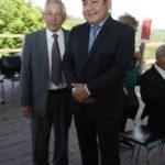 Nishio com Terio Uehara (Jiro Mochizuki)