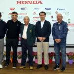 Otavio Mizikami, Antonio Carlos Padula, Ichiro Amano, Yasushi Noguchi e capitão (Créditos: Thais Pastor e Ricardo Fonseca/F2 Comunicação)