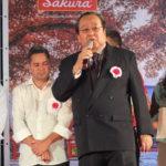 Ricardo Nakaya, um dos patrocinadores da festa (Aldo Shiguti)
