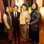 Telma com o marido, Marcelo, e as filhas, Juliana e Lívia (Jiro Mochizuki)