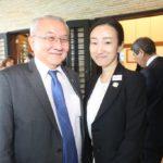 Shinichi Yassunaga e Kyoko Hirano (Jiro Mochizuki)