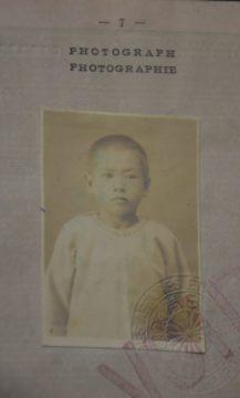 Masao Toyama, na época em que imigrou